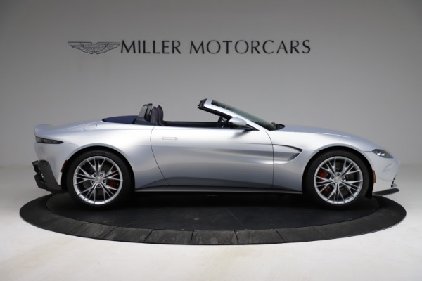 New 2021 Aston Martin Vantage Roadster for sale $184,286 at Alfa Romeo of Westport in Westport CT 06880 8