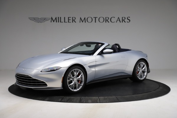 New 2021 Aston Martin Vantage Roadster for sale $184,286 at Alfa Romeo of Westport in Westport CT 06880 1