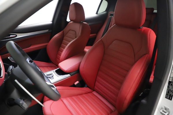 New 2021 Alfa Romeo Stelvio Ti Sport Q4 for sale Sold at Alfa Romeo of Westport in Westport CT 06880 15