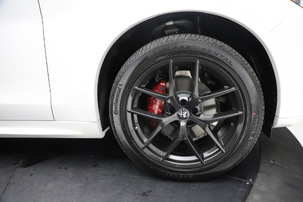 New 2021 Alfa Romeo Stelvio Ti Sport Q4 for sale Sold at Alfa Romeo of Westport in Westport CT 06880 28