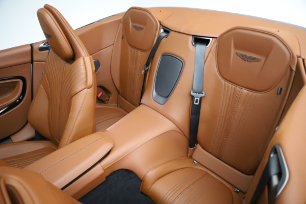New 2021 Aston Martin DB11 Volante for sale $272,686 at Alfa Romeo of Westport in Westport CT 06880 21
