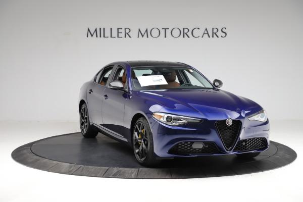 New 2021 Alfa Romeo Giulia Ti Q4 for sale $51,350 at Alfa Romeo of Westport in Westport CT 06880 11