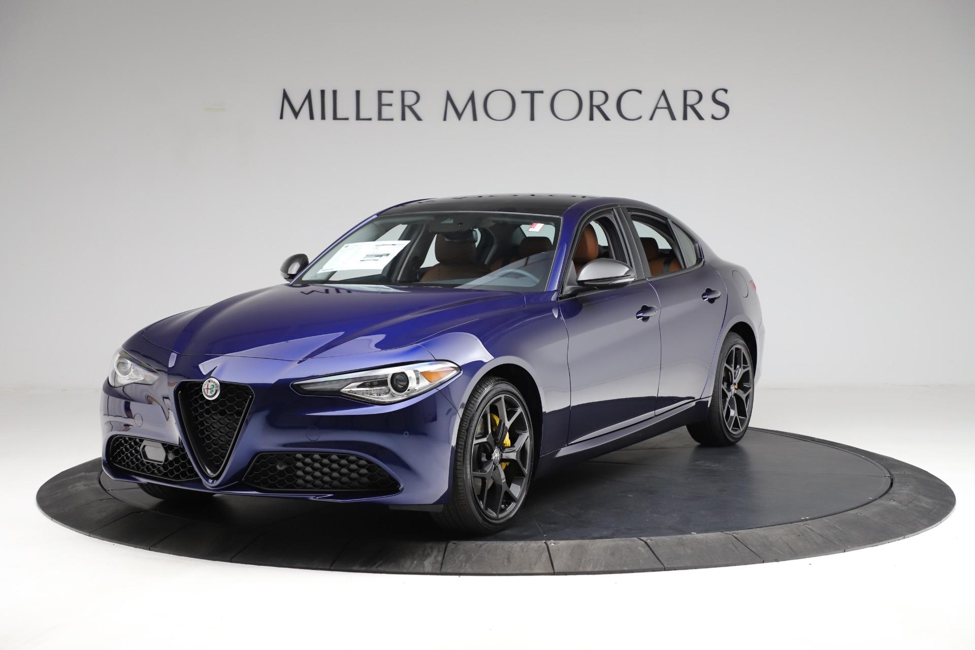 New 2021 Alfa Romeo Giulia Ti Q4 for sale $51,350 at Alfa Romeo of Westport in Westport CT 06880 1