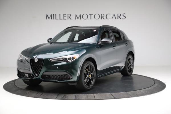 New 2021 Alfa Romeo Stelvio Ti Sport Q4 for sale $56,600 at Alfa Romeo of Westport in Westport CT 06880 2