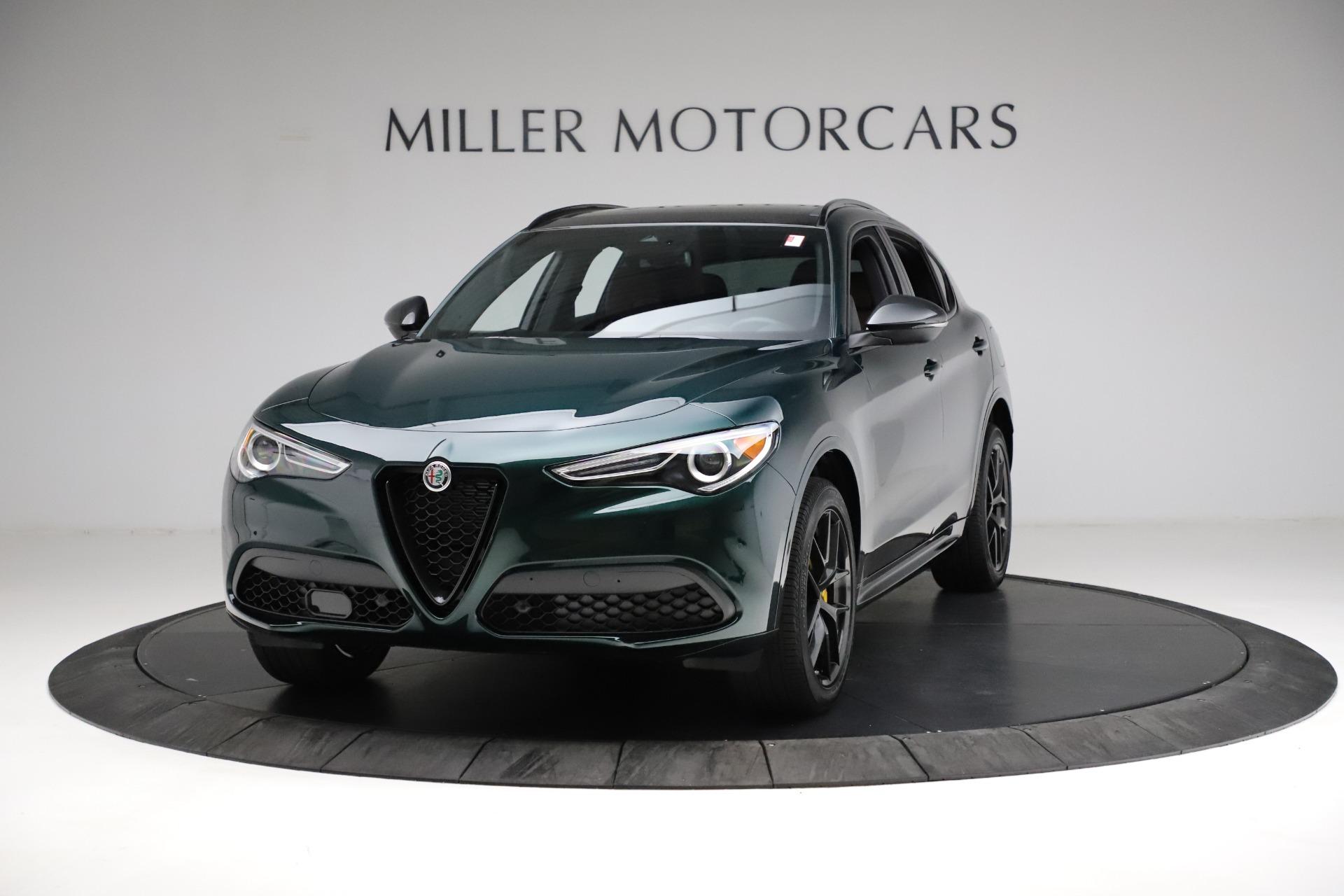 New 2021 Alfa Romeo Stelvio Ti Sport Q4 for sale $56,600 at Alfa Romeo of Westport in Westport CT 06880 1