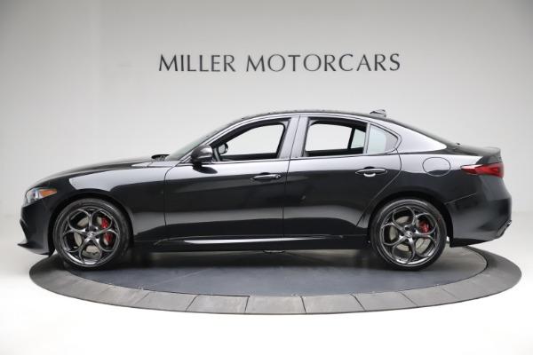 New 2021 Alfa Romeo Giulia Ti Sport Q4 for sale $53,850 at Alfa Romeo of Westport in Westport CT 06880 3