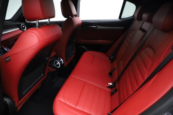 New 2021 Alfa Romeo Stelvio Ti Sport Q4 for sale Sold at Alfa Romeo of Westport in Westport CT 06880 19