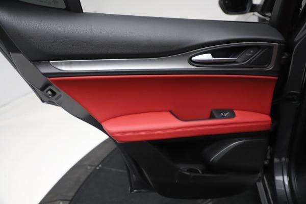 New 2021 Alfa Romeo Stelvio Ti Sport Q4 for sale Sold at Alfa Romeo of Westport in Westport CT 06880 21