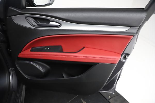 New 2021 Alfa Romeo Stelvio Ti Sport Q4 for sale Sold at Alfa Romeo of Westport in Westport CT 06880 24