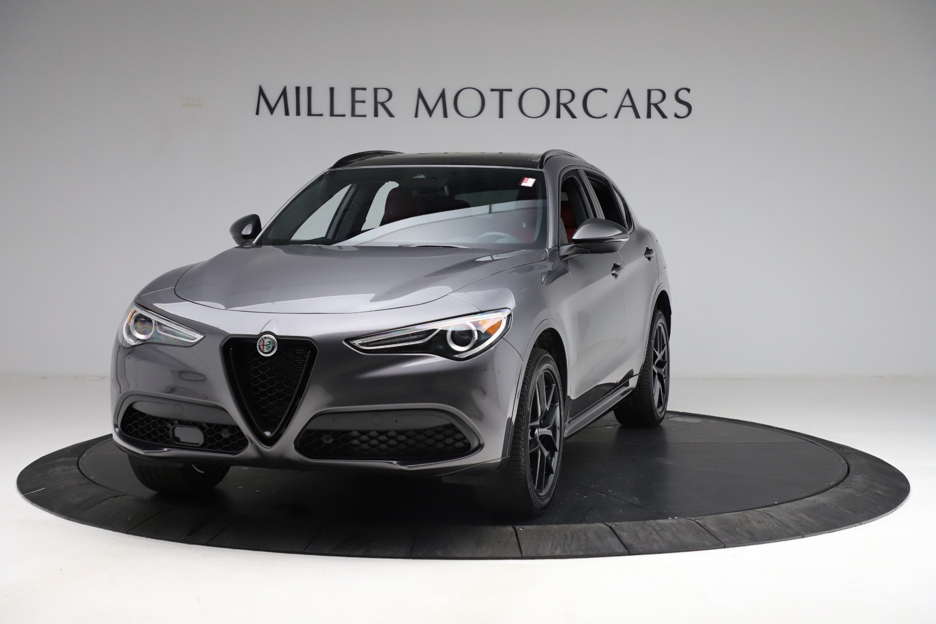 New 2021 Alfa Romeo Stelvio Ti Sport Q4 for sale $55,950 at Alfa Romeo of Westport in Westport CT 06880 1