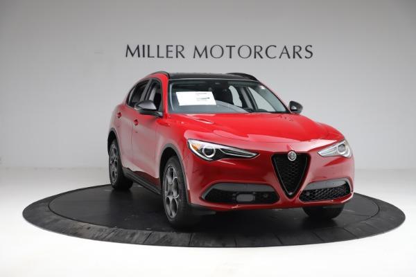 New 2021 Alfa Romeo Stelvio Q4 for sale $50,535 at Alfa Romeo of Westport in Westport CT 06880 12