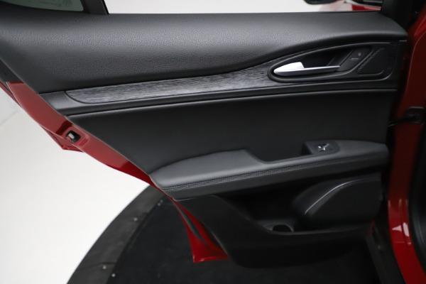 New 2021 Alfa Romeo Stelvio Q4 for sale $50,535 at Alfa Romeo of Westport in Westport CT 06880 20