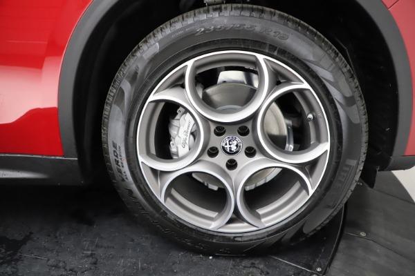 New 2021 Alfa Romeo Stelvio Q4 for sale $50,535 at Alfa Romeo of Westport in Westport CT 06880 28