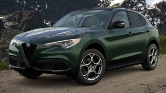 New 2021 Alfa Romeo Stelvio Q4 for sale $51,195 at Alfa Romeo of Westport in Westport CT 06880 1