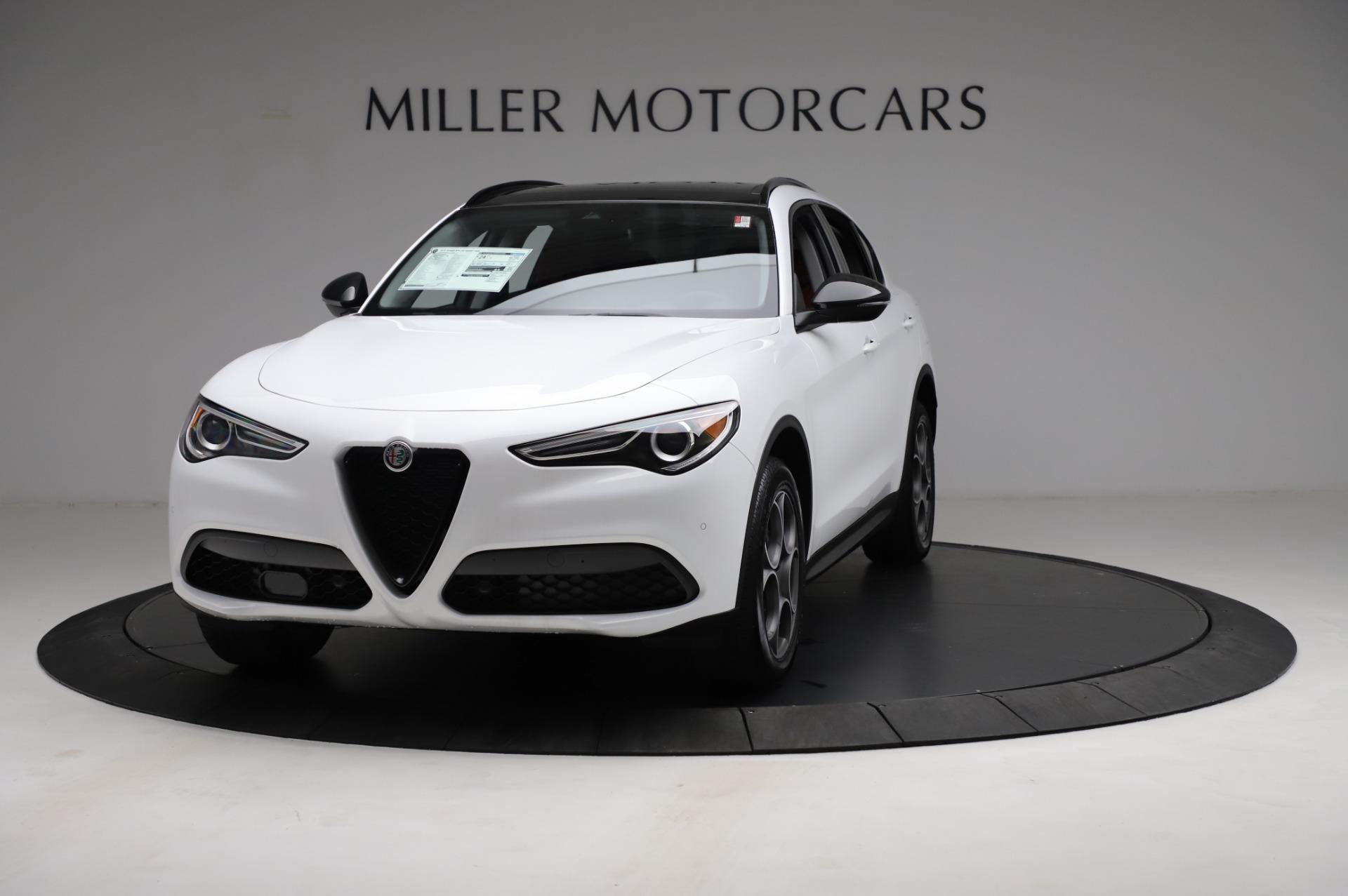 New 2021 Alfa Romeo Stelvio Q4 for sale $49,935 at Alfa Romeo of Westport in Westport CT 06880 1