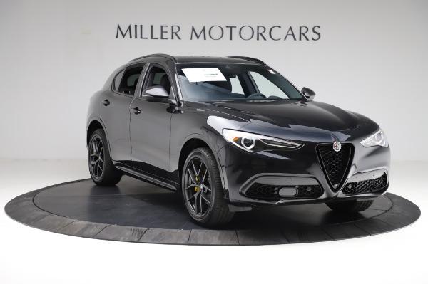 New 2021 Alfa Romeo Stelvio Ti Sport Q4 for sale $57,595 at Alfa Romeo of Westport in Westport CT 06880 11