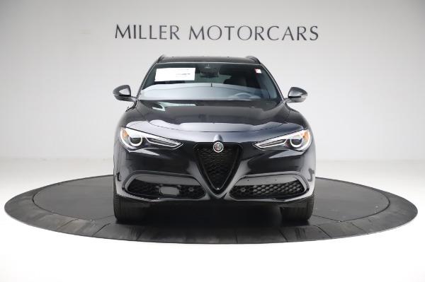 New 2021 Alfa Romeo Stelvio Ti Sport Q4 for sale $57,595 at Alfa Romeo of Westport in Westport CT 06880 12
