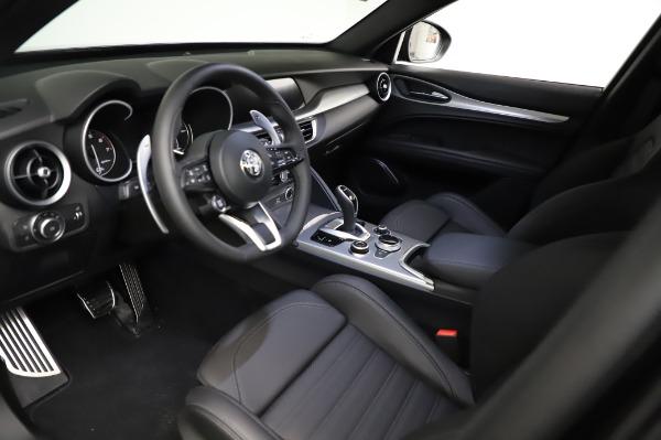 New 2021 Alfa Romeo Stelvio Ti Sport Q4 for sale $57,595 at Alfa Romeo of Westport in Westport CT 06880 13