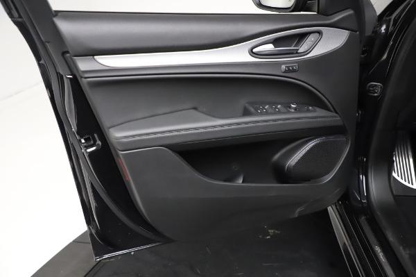 New 2021 Alfa Romeo Stelvio Ti Sport Q4 for sale $57,595 at Alfa Romeo of Westport in Westport CT 06880 17
