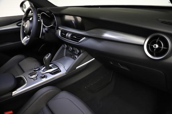 New 2021 Alfa Romeo Stelvio Ti Sport Q4 for sale $57,595 at Alfa Romeo of Westport in Westport CT 06880 22