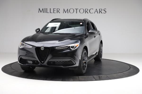 New 2021 Alfa Romeo Stelvio Ti Sport Q4 for sale $57,395 at Alfa Romeo of Westport in Westport CT 06880 1