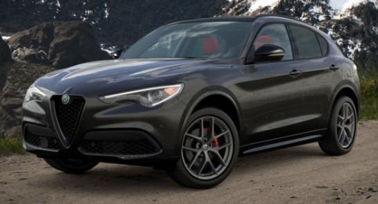 New 2021 Alfa Romeo Stelvio Ti Sport for sale $55,950 at Alfa Romeo of Westport in Westport CT 06880 1