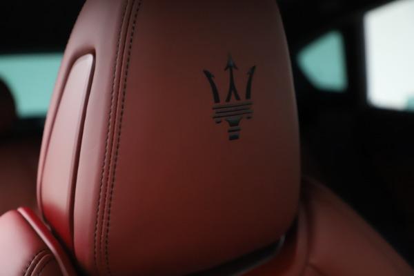 New 2021 Maserati Levante S Q4 GranSport for sale $105,835 at Alfa Romeo of Westport in Westport CT 06880 23