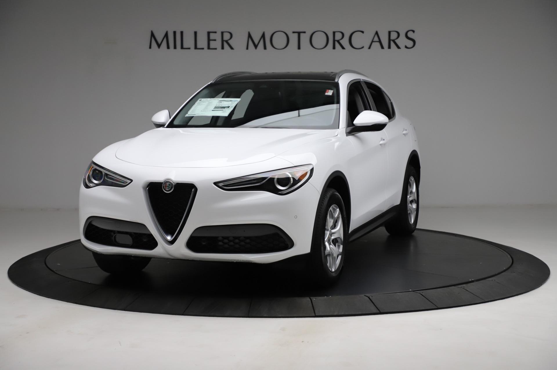 New 2021 Alfa Romeo Stelvio Q4 for sale $49,185 at Alfa Romeo of Westport in Westport CT 06880 1