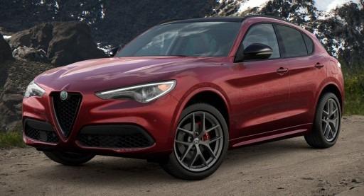 New 2021 Alfa Romeo Stelvio Ti Sport Q4 for sale $61,340 at Alfa Romeo of Westport in Westport CT 06880 1