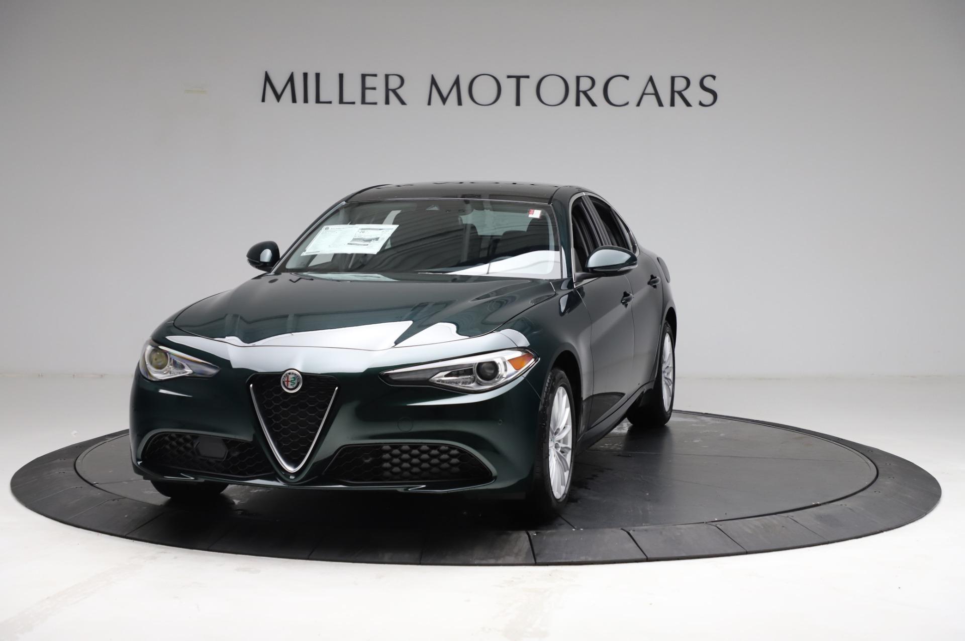New 2021 Alfa Romeo Giulia Q4 for sale $46,895 at Alfa Romeo of Westport in Westport CT 06880 1