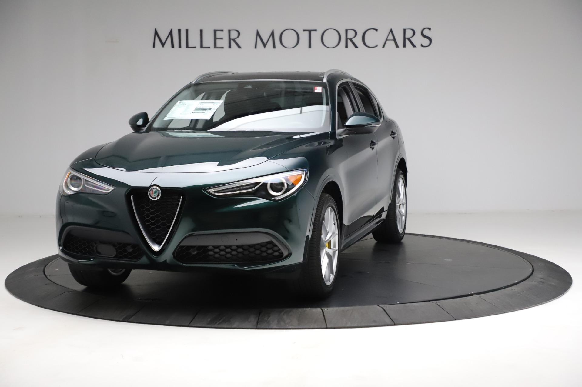 New 2021 Alfa Romeo Stelvio Ti Q4 for sale Sold at Alfa Romeo of Westport in Westport CT 06880 1
