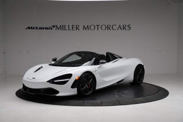 Used 2020 McLaren 720S Spider for sale Sold at Alfa Romeo of Westport in Westport CT 06880 1