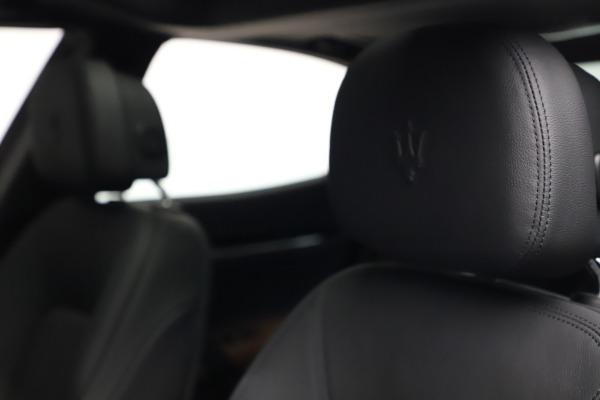 New 2021 Maserati Ghibli S Q4 for sale $90,525 at Alfa Romeo of Westport in Westport CT 06880 16