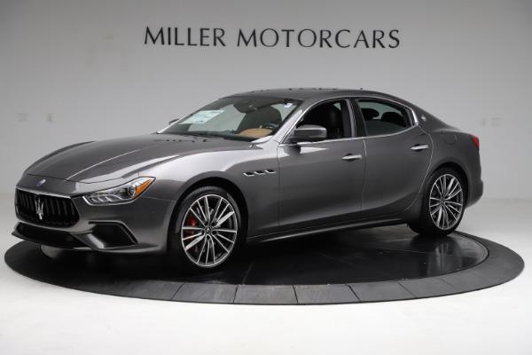 New 2021 Maserati Ghibli S Q4 for sale $90,525 at Alfa Romeo of Westport in Westport CT 06880 2