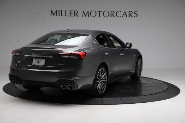 New 2021 Maserati Ghibli S Q4 for sale $90,525 at Alfa Romeo of Westport in Westport CT 06880 8