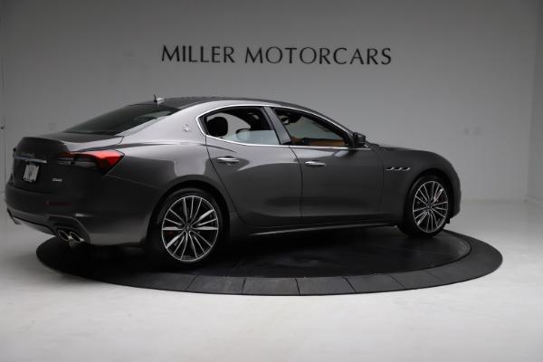 New 2021 Maserati Ghibli S Q4 for sale $90,525 at Alfa Romeo of Westport in Westport CT 06880 9