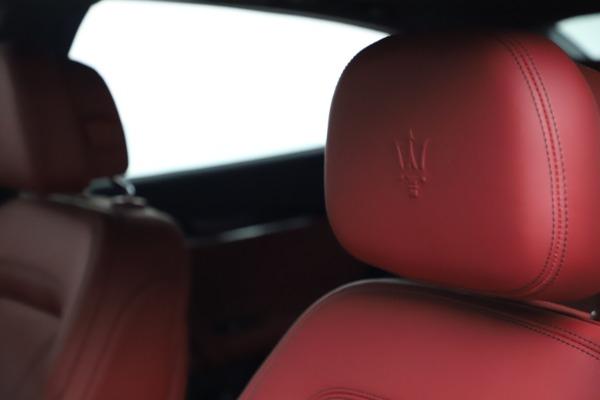 New 2021 Maserati Quattroporte S Q4 GranLusso for sale $122,349 at Alfa Romeo of Westport in Westport CT 06880 15