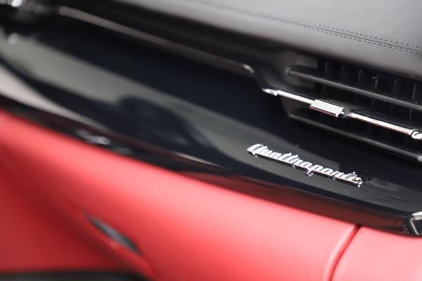 New 2021 Maserati Quattroporte S Q4 GranLusso for sale $122,349 at Alfa Romeo of Westport in Westport CT 06880 27