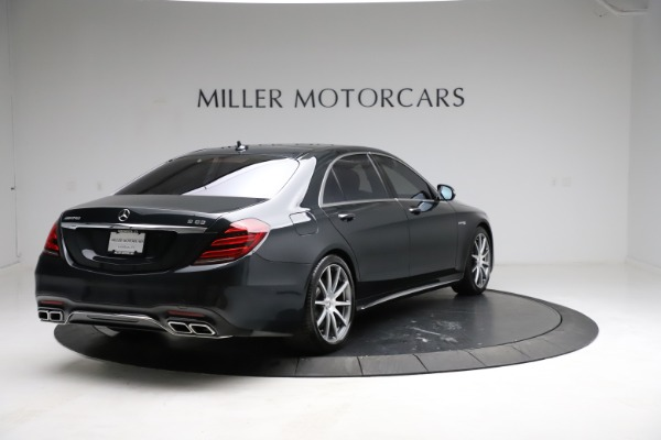 Used 2019 Mercedes-Benz S-Class AMG S 63 for sale $122,900 at Alfa Romeo of Westport in Westport CT 06880 11