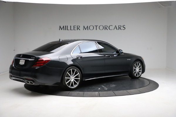 Used 2019 Mercedes-Benz S-Class AMG S 63 for sale $122,900 at Alfa Romeo of Westport in Westport CT 06880 12