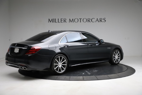 Used 2019 Mercedes-Benz S-Class AMG S 63 for sale $122,900 at Alfa Romeo of Westport in Westport CT 06880 13