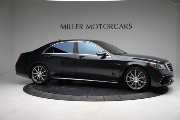 Used 2019 Mercedes-Benz S-Class AMG S 63 for sale $122,900 at Alfa Romeo of Westport in Westport CT 06880 16