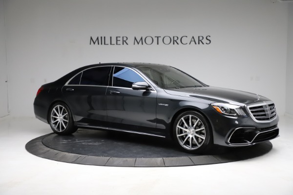 Used 2019 Mercedes-Benz S-Class AMG S 63 for sale $122,900 at Alfa Romeo of Westport in Westport CT 06880 18