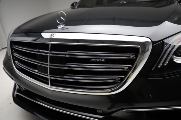 Used 2019 Mercedes-Benz S-Class AMG S 63 for sale $122,900 at Alfa Romeo of Westport in Westport CT 06880 23