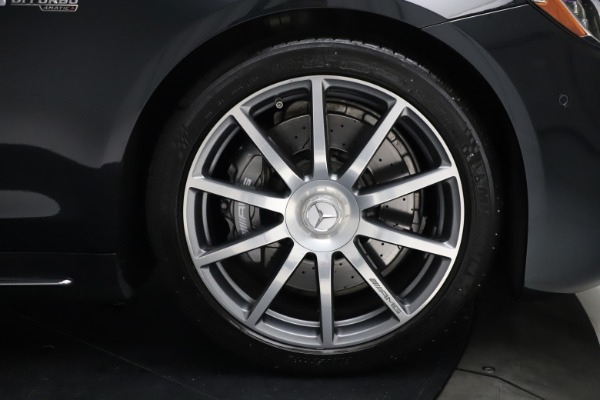 Used 2019 Mercedes-Benz S-Class AMG S 63 for sale $122,900 at Alfa Romeo of Westport in Westport CT 06880 26