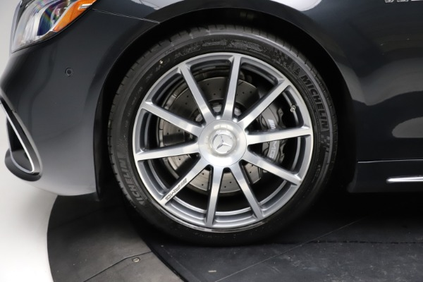 Used 2019 Mercedes-Benz S-Class AMG S 63 for sale $122,900 at Alfa Romeo of Westport in Westport CT 06880 27