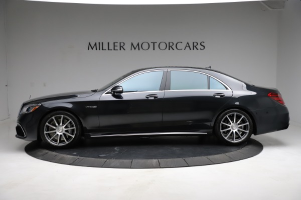 Used 2019 Mercedes-Benz S-Class AMG S 63 for sale $122,900 at Alfa Romeo of Westport in Westport CT 06880 4