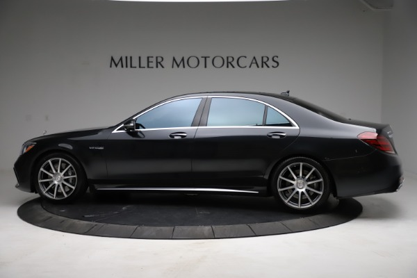 Used 2019 Mercedes-Benz S-Class AMG S 63 for sale $122,900 at Alfa Romeo of Westport in Westport CT 06880 5