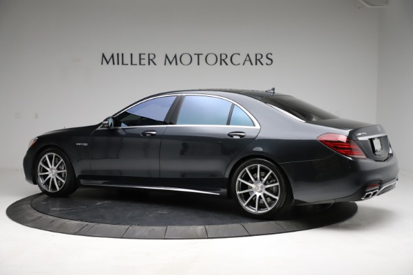 Used 2019 Mercedes-Benz S-Class AMG S 63 for sale $122,900 at Alfa Romeo of Westport in Westport CT 06880 6