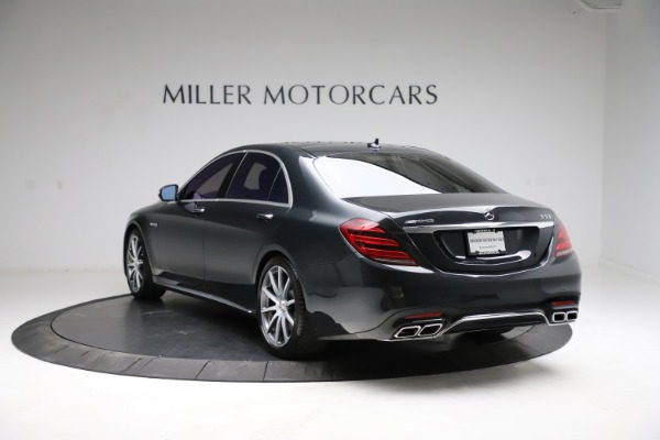 Used 2019 Mercedes-Benz S-Class AMG S 63 for sale $122,900 at Alfa Romeo of Westport in Westport CT 06880 8
